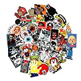 Baybuy 7 Series Stickers 100pcs/pack Variety Vinyl Car Sticker Motorcycle Bicycle Luggage Decal Graffiti Patches Skateboard Stickers for Laptop Stickers (series D)