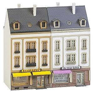 Faller FA 232386-2Serie Casas Bancal Hoven Calle, Accesorios para el diseño de ferrocarril, Modelo