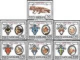 Vatikanstadt 748-754 (completa.Problema.) 1979 Vaticano (Francobolli ) - Prophila Collection - amazon.it