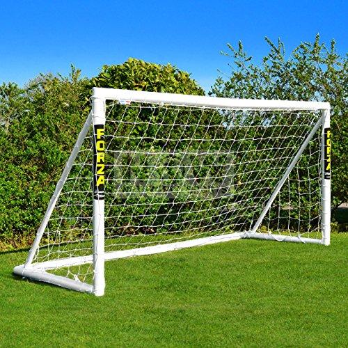FORZA - wetterfestes Fußballtor 2,4 x 1,2 m (FORZA Tor 2.4x1.2m) [Net World Sports]