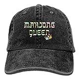 Fun Life Art Mahjong Reine Mahjongg Mah-Jong Chinois Juif Game1 Casquette de Baseball réglable pour Adulte Chapeau de Cow-Boy