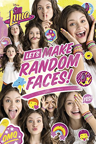 Soy Luna - Random Face Group - Filmposter Kino Movie Disney Serie Poster Druck Plakat - Größe 61x91,5 cm