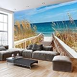 murando - 150x105 cm XXL-Wandbild auf Vliesleinwand! Poster XXL Wanddekoration - Fototapete - Tapete - Bild - Bilder - Landschaft Natur Meer Strand c-C-0013-a-a
