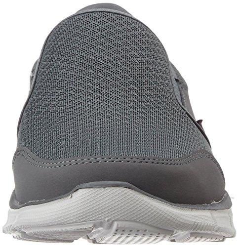 Skechers - EqualizerPersistent, Sneaker basse Uomo Grigio (CHAR)