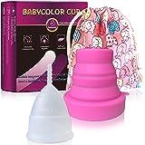INTIMINA Ziggy Cup – Copa menstrual plana, reutilizable y ...
