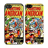 Accessories4Life DC Marvel Comic Book Coque pour Apple iPad Air - N ° 1, Fighting American - 879 - White, iPhone 5C