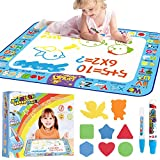 AMERTEER Drawing Mat Painting Large Magic Water Mat Suitable For 2 3 4 5 Years Boys Girls For Old Children Creative Education