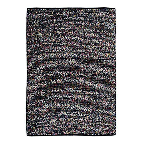 The Rug Republic - Tapis Nova Noir/Multicolore