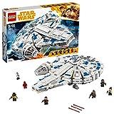 LEGO 75212 Star Wars Kessel Run Millennium Falcon Toy, 6 Minifugures inc. Han Solo, Chewbacca, Qi'ra, Lando Calrissian