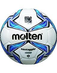 molten Fußball F5V4800, Weiß/Blau/Silber, 5, F5V4800