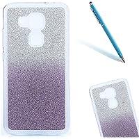 CLTPY Huawei Nova Plus Funda, Huawei Nova Plus Case Cover el Bling [Cristalino Transparente