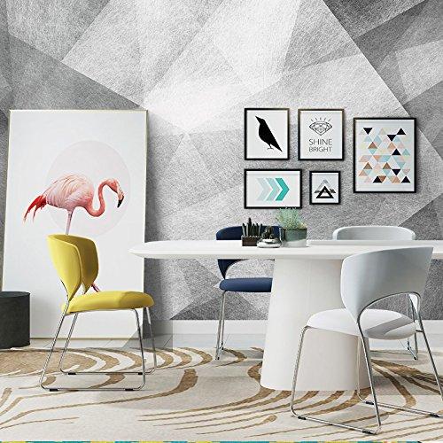 Preisvergleich Produktbild Y-Hui Modern style art geometric abstract living room sofa bedroom television background wall wallpaper mood wallpaper, 250cmx175cm