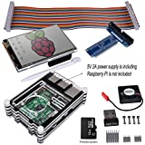 Kuman Complete Starter kit for Raspberry Pi 3 2 (11-Items) WiFi 150Mbps 11n USB Adapter+3.5