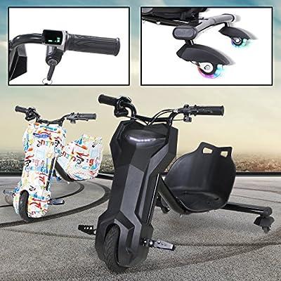 Kinder Elektro DRIFTSCOOTER 360 Scooter Dreirad Drift Scooter 250 Watt - Ultimativer Fahrspaß für Ihr Kind von Actionbikes Motors