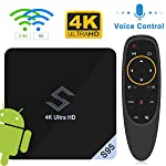 Android TV BOX - VIDEN S95 TV BOX Android 8.1 Smart TV Box Amlogic S905X2 Quad-Core Support 4K 75fps Ultra HD/ H.265 Dual...