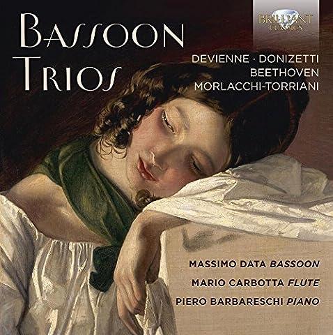 Trios pour basson : Devienne, Donizetti, Beethoven, Morlacchi-Torriani. Data, Carbotta, Barbareschi.