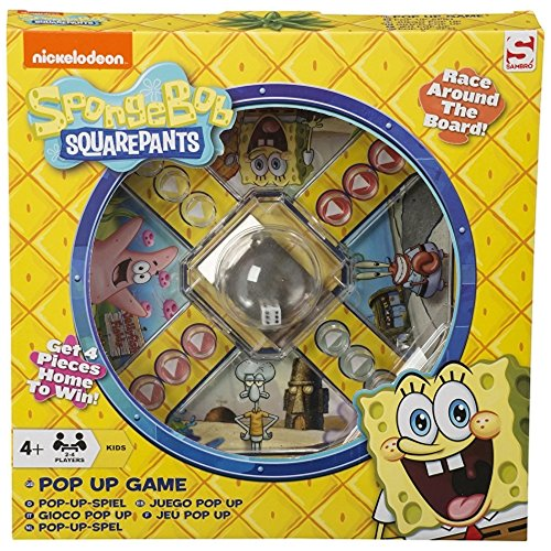Image of Nickelodeon Spongebob Squarepants Pop Up Game Age 4 Years +