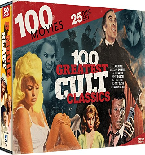 100-greatest-cult-classics-collection-25-dvds-136-hours-william-shatner-adam-west-matt-dillon-glenn-