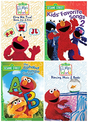 s World: Elmo Has Two!/Kids' Favorite Songs 2/Elmo's World: Dancing, Music & Books/The Alphabet Jungle Game ()
