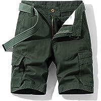 NTNY3 Pantaloni Uomo Corti Bermuda Pantaloncini Ragazzo Cargo con Tasche Laterali Shorts Regular Fit Bermuda