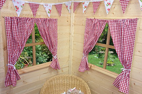kids-playhouse-curtains-red-gingham-includes-fittings-wendy-house-summer-house