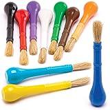 Baker Ross Pinceaux Facile à Tenir (Lot de 10) - Matériel créatif pour Adultes et Enfants AW592