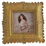 Cadeau Jardin 4x 4Carré Doré Cadre photo vintage Frames 4en 10,2cm