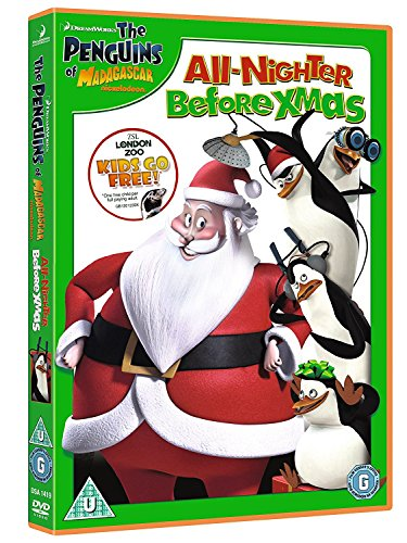 Of Madagascar: Xmas All Nighter
