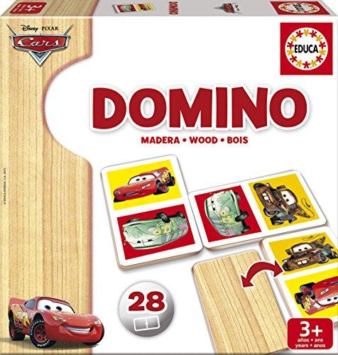 Educa Juegos - Cars Dominó de madera (16038)