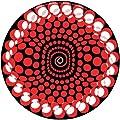 Slipmat Zomo Balls Red (Pack of 2)