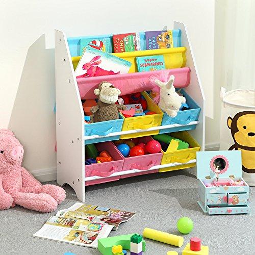 Zoom IMG-3 songmics scaffale per giocattoli mobiletto