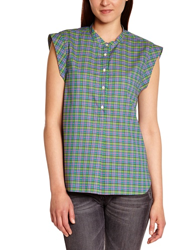 Bensimon - sista - t-shirt - femme Vert