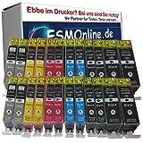 ESMOnline 24 komp. Canon Druckerpatronen als Ersatz für Canon PIXMA MG6100 PIXMA MG6150 PIXMA MG6200 PIXMA MG6250 PIXMA MG8100 PIXMA MG8150 PIXMA MG8200 PIXMA MG8250