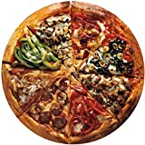 Bits and Pieces-Pizza Pie - 1000 Piece Round Jigsaw Puzzle