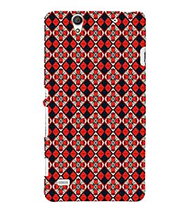 ifasho Designer Phone Back Case Cover Sony Xperia C4 Dual :: Sony Xperia C4 Dual E5333 E5343 E5363 ( Purple Man Star Full Moon )