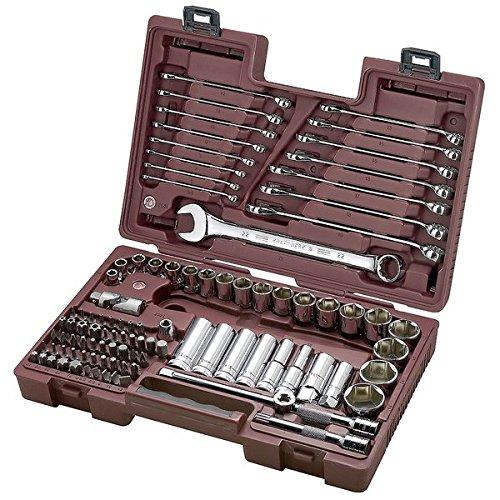 Kraftwerk 6023.4 97-teilig Werkzeugkoffer modulo 1/2 Zoll +5/16 Zoll