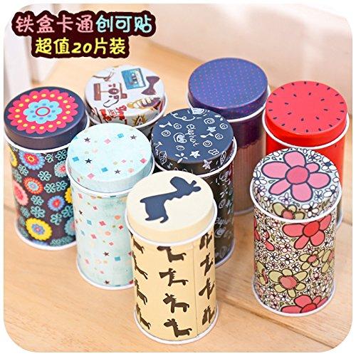 sunny-market-20-pieces-korea-cartoon-waterproof-metal-band-aid-cute-band-breathable-bandages-band-ai