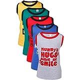 GOODWAY Boy's Vest T-shirt (Set of 5)