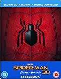 Spider Man Homecoming Steelbook UK Limited Edition 3D+2D+Digital Disk + Includes Resin Magnet and Comic Steelbook Region Free