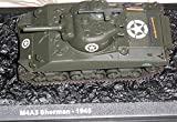 Panzer Modell M4A3 Sherman -1945, Atlas Collection, neuwertig; Ausstellungsstück