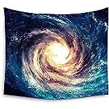 Giss Weltraum Galaxien Andromeda Wandteppich Hanging - Polyester Stoff Wand Kunst Wandteppiche Wohnkultur - Dekor - 60