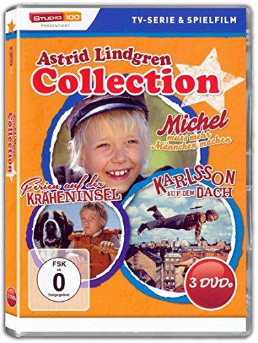 Astrid Lindgren Collection MICHEL AUS LÖNNEBERGA + KARLSSON AUF DEM DACH + FERIEN AUF DER KRÄHENINSEL 3 DVD Box Edition: Alle Infos bei Amazon