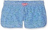Sanetta Mädchen Swim Trunks Woven Badeshorts, Blau (Azur 50286), 152