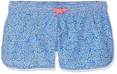 Sanetta Mädchen Swim Trunks Woven Badeshorts, Blau (Azur 50286), 164