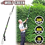 Wolf Creek Electric Hedge Trimmer - HT50 Telescopic Pole Long Reach, New 2017 Lightweight Design
