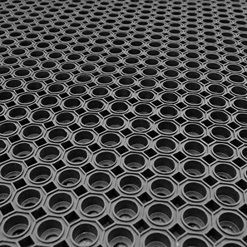 4x Paddockmatte | je 1,0m x 1,5m | Stärke: 23mm | Paddock Ringmatte (Typ 16)