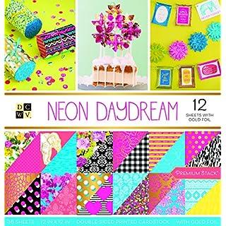 American Crafts Neon Daydream Premium Bedruckt Karton Stack