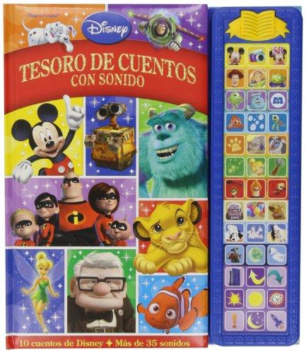TESORO DE CUENTOS CON SONIDO DISNEY SD TREASURY
