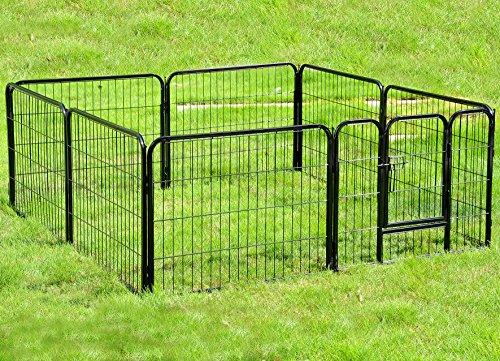 Recinzione Per Cani Giardino.Recinto In Metallo Per Cani Cucciolo Gatti Conigli Gabbia Animali