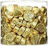 Günthart Kleine Schokoladen-Herzen, gold, 1er Pack (1 x 1.1 kg)